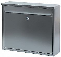 Wandbrievenbus mat RVS 36x10x31cm
