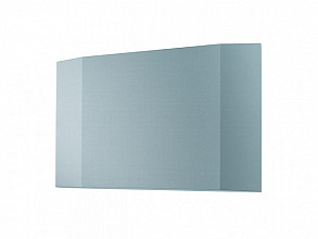 Wandbord Sigel akoestiek 1200x810x65mm lichtblauw