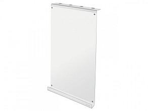 Schrijfbord Sigel akoestiek acryl transparant 300x600x60mm