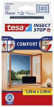 Insectenhor Tesa 55918 voor raam 1,2x2,4m zwart