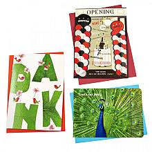 Wenskaart Paperclip navulset overig set à 12 kaarten