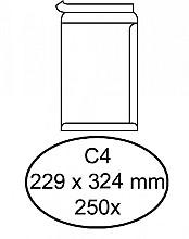 Envelop Quantore akte C4 229x324mm zelfklevend wit 250stuks