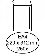 Envelop Hermes akte EA4 220x312mm zelfklevend wit 250stuks