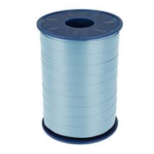 Krullint 10mm x 250 meter kleur blauw ciel/hemelsblauw 602