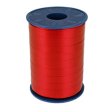 Krullint 10mm x 250 meter kleur rood nol 609