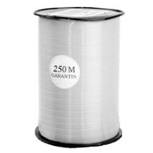 Krullint 10mm x 250 meter kleur zilver argent 631