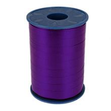 Krullint 10mm x 250 meter kleur paars pruneaux  610