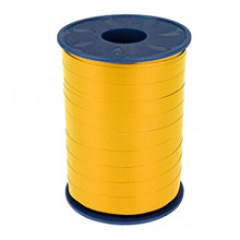 Krullint 10mm x 250 meter kleur geel jaune 605