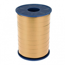 Krullint 10mm x 250 meter kleur bruin beige sahara 134