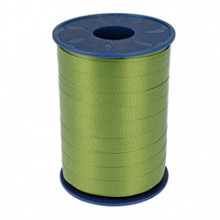 Krullint 10mm x 250 meter kleur groen mousse 621