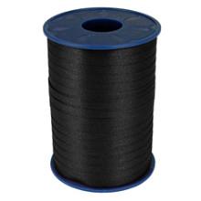 Krullint 5mm x 500 meter kleur zwart noir 613