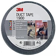 Plakband 3M 1900 Duct Tape 50mmx50m zwart