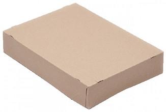 Paraatdoos CleverPack A4 305x218x55mm voor 500vel bruin 10st