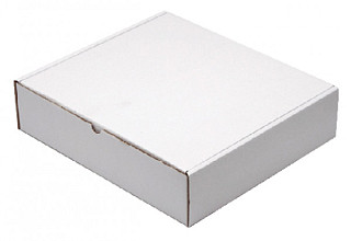 Postpakket CleverPack golfkarton 330x300x80mm wit 25stuks