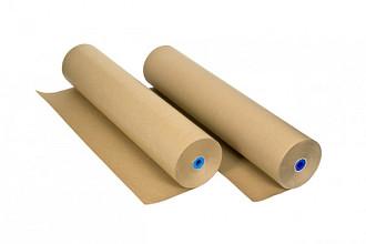 Inpakpapier IEZZY 70gram 70cmx220m kraft bruin