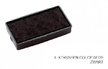 Stempelkussen Colop 6E/20 zwart