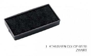 Stempelkussen Colop 6E/30 zwart