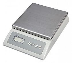 Pakketweger MAULCount 10kg metalen plateau 17x17.5cm 220V/+ batterij