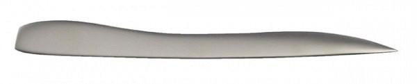 Briefopener 192mm metaal mat nikkel