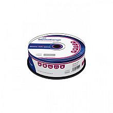 CD-R MediaRange 700MB 80min 52x speed, 25 stuks