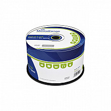 DVD-R MediaRange 4.7GB 120min 16x speed, 50 stuks