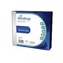 DVD+R MediaRange DL 8.5GB Slimcase Pack a 5 stuks