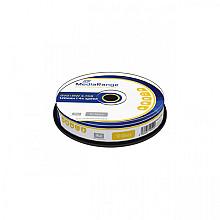 DVD+RW MediaRange 4.7GB rewritable, 10 stuks