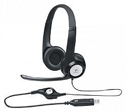 Headset Logitech H390 Over Ear zwart