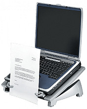 Laptopstandaard Fellowes Office Suites Plus zwart/grijs