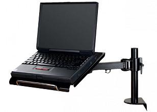 Laptoparm Neomounts D100 met klem zwart