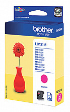 Inktcartridge Brother LC-121M rood