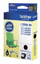 Inktcartridge Brother LC-229XLBK zwart HC