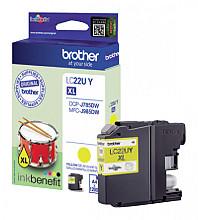 Inktcartridge Brother LC-22U geel