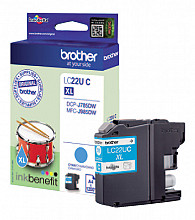 Inktcartridge Brother LC-22U blauw