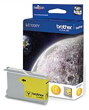 Inktcartridge Brother LC-1000Y geel