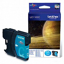 Inktcartridge Brother LC-1100C blauw