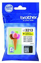 Inktcartridge Brother LC-3213 geel HC