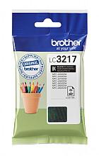Inktcartridge Brother LC-3217BK zwart