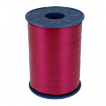 Krullint 10mm x 250 meter kleur rood bordeaux 018