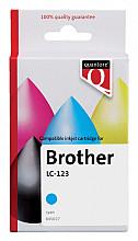 Inktcartridge Quantore Brother LC-123 blauw