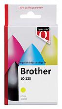 Inktcartridge Quantore Brother LC-123 geel