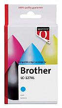 Inktcartridge Quantore Brother LC-125XL blauw