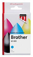 Inktcartridge Quantore Brother LC-223 blauw