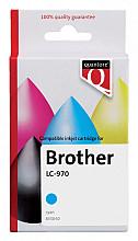 Inktcartridge Quantore Brother LC-970 blauw