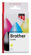 Inktcartridge Quantore Brother LC-970 geel