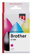Inktcartridge Quantore Brother LC-980 rood