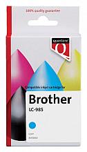 Inktcartridge Quantore Brother LC-985 blauw