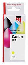 Inktcartridge Quantore Canon CLI-8 geel+chip