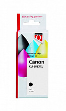 Inktcartridge Quantore Canon CLI-581XXL pigment zwart