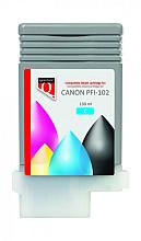 Inktcartridge Quantore Canon PFI-102 blauw